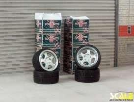 Rims & tires Wheels & tires - 1:24 - Scale Production - SPRF24109 | Toms Modelautos