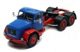 Magirus Deutz  - Jupiter blue/red - 1:43 - IXO Models - TR054 - ixTR054 | Toms Modelautos
