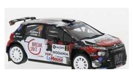 Citroen  - C3 2019 black/red/white - 1:43 - IXO Models - ram740 - ixram740 | Toms Modelautos
