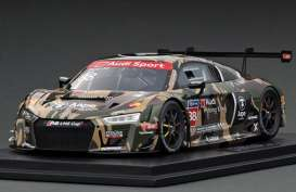 Audi  - R8 LMS 2016 black/camouflage - 1:18 - Tarmac - T18-004-CUP16GRN - TarmacCUP16GRN | Toms Modelautos