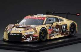 Audi  - R8 LMS 2016 brown/camouflage - 1:18 - Tarmac - T18-004-CUP16DST - TarmacCUP16DST | Toms Modelautos