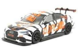Audi  - RS3 LMS white/orange/black - 1:64 - Tarmac - T64-013-DPWT - TarmacDPWT | Toms Modelautos