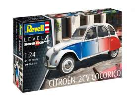 Citroen Cars - 2CV  - 1:24 - Revell - Germany - revell07653 | Toms Modelautos