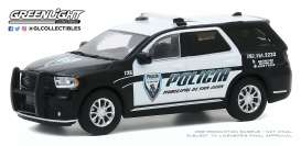 Dodge  - Durango 2018 black/white - 1:64 - GreenLight - 30197 - gl30197 | Toms Modelautos