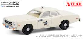 Dodge  - Monaco 1977 white - 1:64 - GreenLight - 44865B - gl44865B | Toms Modelautos