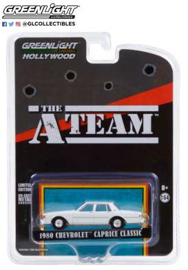 Chevrolet  - Caprice 1980 white - 1:64 - GreenLight - 44865C - gl44865C | Toms Modelautos