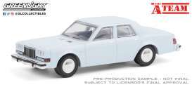 Dodge  - Diplomat 1981 light blue - 1:64 - GreenLight - 44865D - gl44865D | Toms Modelautos