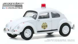 Volkswagen  - Beetle 1964 white - 1:64 - GreenLight - 30000A - gl30000A | Toms Modelautos