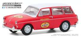 Volkswagen  - Type 3 1965 red - 1:64 - GreenLight - 30000C - gl30000C | Toms Modelautos