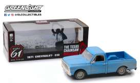 Chevrolet  - C10 *Texas Chain Saw Massacre* 1974 blue - 1:18 - Highway 61 - hwy18014 - HWY18014 | Toms Modelautos