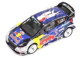 Ford  - Fiesta WRC 2017 blue/red/yellow/silver - 1:43 - Magazine Models - MagRfwpFiesta17 | Toms Modelautos