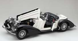 Horch  - 855 Roadster 1939 black/white - 1:18 - SunStar - 2405 - sun2405 | Toms Modelautos