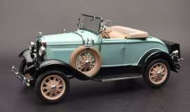 Ford  - Model A  1931 powder blue - 1:18 - SunStar - 6126 - sun6126 | Toms Modelautos