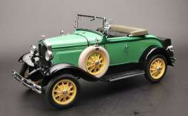 Ford  - Model A  1931 reseda green - 1:18 - SunStar - 6127 - sun6127 | Toms Modelautos