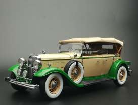 Ford Lincoln - Lincoln KB top-up 1934 light tan/light green - 1:18 - SunStar - 6164 - sun6164 | Toms Modelautos