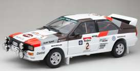 Audi  - Quattro A2 #2 1983 white/red/black/grey - 1:18 - SunStar - 4250 - sun4250 | Toms Modelautos
