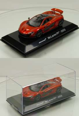 McLaren  - P1 2013 copper-red - 1:43 - Magazine Models - magSCP1 | Toms Modelautos