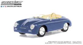 Porsche  - Speedster 2008 blue - 1:43 - GreenLight - 86598 - gl86598 | Toms Modelautos