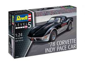 Chevrolet Cars - Corvette  - 1:24 - Revell - Germany - revell67646 | Toms Modelautos