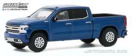 Chevrolet  - Silverado 1992 blue metallic - 1:64 - GreenLight - 35170F - gl35170F | Toms Modelautos