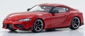 Toyota  - GT Supra red - 1:43 - Kyosho - 3700R - kyo3700Rr | Toms Modelautos