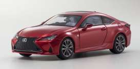 Lexus  - RC350h red - 1:43 - Kyosho - 0369RR - kyo3697r | Toms Modelautos
