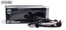 Honda  - Indy Car #21 Rinus VeeKay 2020 white/black/red - 1:18 - GreenLight - 11098 - gl11098 | Toms Modelautos