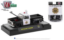 Chevrolet  - Scottsdale 1976 white/black - 1:64 - M2 Machines - 31500HS08 - M2-31500HS08 | Toms Modelautos