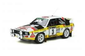 Audi  - Quattro 1985 yellow/white - 1:18 - OttOmobile Miniatures - ot820 - otto820 | Toms Modelautos