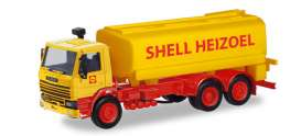 Scania  - 112 Tank red/yellow - 1:87 - Herpa - 310956 - herpa310956 | Toms Modelautos