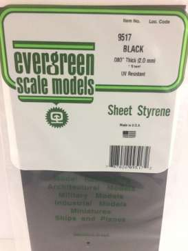 Scalemodeling supplies Accessoires - Evergreen - EVR9517 | Toms Modelautos