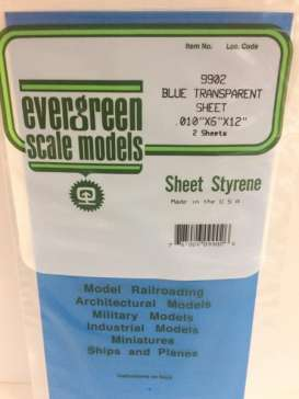 Scalemodeling supplies Accessoires - Evergreen - EVR9902 | Toms Modelautos