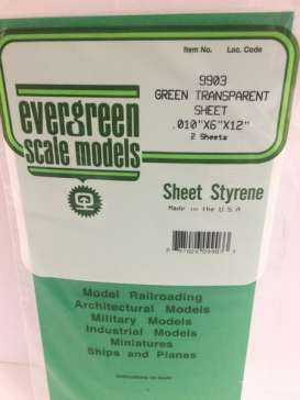 Scalemodeling supplies Accessoires - Evergreen - EVR9903 | Toms Modelautos