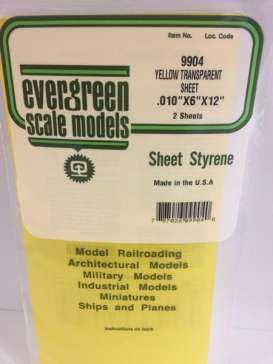 Scalemodeling supplies Accessoires - Evergreen - EVR9904 | Toms Modelautos