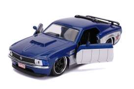 Ford  - Boss Mustang *Winter Soldier* 1970 blue/silver - 1:32 - Jada Toys - 31745 - jada31745 | Toms Modelautos