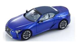 Lexus  - LC Convertible 1997 structural blue - 1:43 - Kyosho - 3902b - kyo3902b | Toms Modelautos