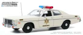 Dodge  - Coronet 1975 white - 1:18 - GreenLight - 19092 - gl19092 | Toms Modelautos
