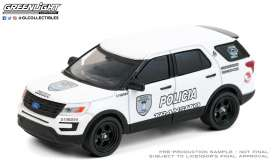 Ford  - Interceptor Utility  2016 white/black - 1:64 - GreenLight - 30210 - gl30210 | Toms Modelautos