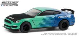 Ford  - Shelby 2019 green/blue - 1:64 - GreenLight - 30211 - gl30211 | Toms Modelautos