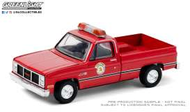 GMC  - High Sierra 1987 red - 1:64 - GreenLight - 30213 - gl30213 | Toms Modelautos