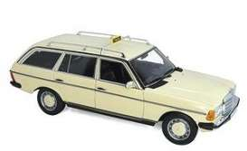 Mercedes Benz  - 200 1982 cream - 1:18 - Norev - 183731 - nor183731 | Toms Modelautos
