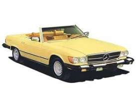 Mercedes Benz  - 300 SL 1979 yellow - 1:18 - Norev - 183727 - nor183727 | Toms Modelautos