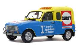 Renault  - 4 LF4 blue/yellow - 1:18 - Solido - 1802204 - soli1802204 | Toms Modelautos