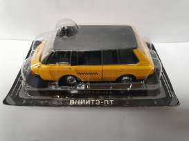 Russian Cars  - yellow/black - 1:43 - Magazine Models - magrus088 | Toms Modelautos