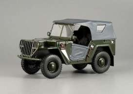 Russian Cars  - green - 1:43 - Magazine Models - magrus118 | Toms Modelautos