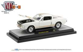 Shelby  - G.T. 350H 1966 white/gold - 1:24 - M2 Machines - 40300-75A - M2-40300-75A | Toms Modelautos