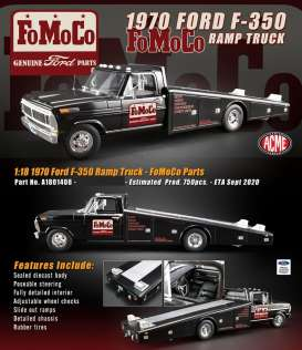 Ford  - F-350 Ramp Truck  - 1:18 - Acme Diecast - 1801408 - acme1801408 | Toms Modelautos
