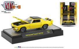 Chevrolet  - Camaro Z28 1970 yellow/black - 1:64 - M2 Machines - 31500HS10 - M2-31500HS10 | Toms Modelautos