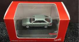 Audi  - Coupe 1992 green - 1:87 - Herpa - H363457 - herpa363457 | Toms Modelautos