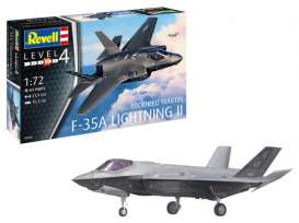 Planes  - F-35A   - 1:72 - Revell - Germany - 03868 - revell03868 | Toms Modelautos